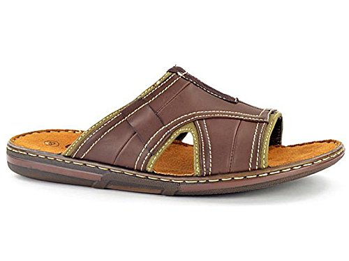 mens-easy-go-leather-look-slip-on-sport-beach-surf-flip-flop-mule-sandals-shoe-size-7-11-uk-10-32742