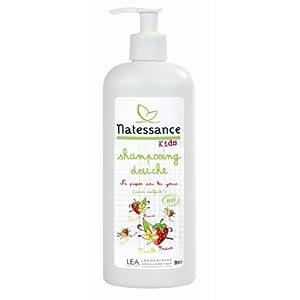 Kids bio shampooing douche fraise vanille 500 ml por Natessance