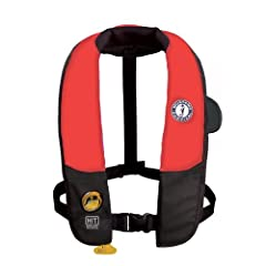 Mustang Deluxe Auto Hydrostatic Inflatable PFD with Harness: Universal by Mustang Survival