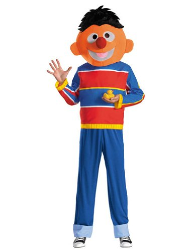 Adult-Costume Retro Ernie Adult Xl 42-46 Halloween Costume - Adult 42-46