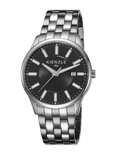 Kienzle - K3043013072-00059 - Montre Mixte - Quartz Analogique - Bracelet Acier Inoxydable Blanc