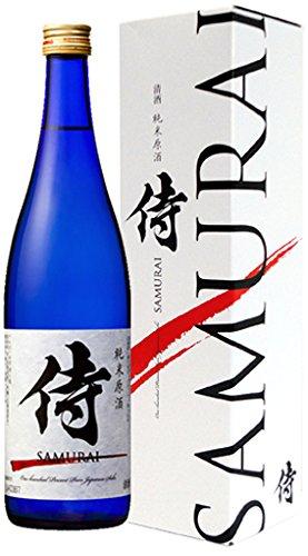 北の誉 純米原酒 侍ブルーボトル(化粧箱入) 720ml