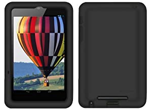 Bobj Rugged Case for Nexus 7 WiFi or Nexus 7 3G 4G Tablet (Not for Nexus 7 FHD) - BobjGear protective cover - Bold Black