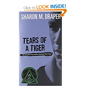 book talk tears of a tiger Recommended books tears of a tiger paperback book 596 795 piecing me together  sharing an excerpt from tears of a tiger by nicole sledge by: sharon draper grades 9–12  but my friends talk about me if i get called up to the front on awards day with all the white kids.
