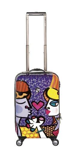 Heys USA Luggage Britto Couple 22 Inch Hardside
