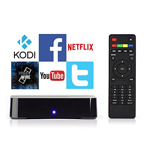 Android TV Box with Kodi PRE-installed - Stream Millions of