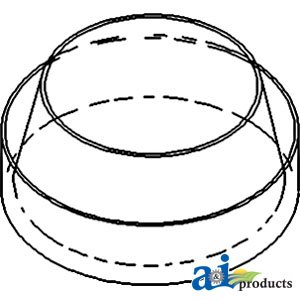 A & I Products Bowl, Pre-Cleaner (6.375) (W/ AD3.152 Engine) Replacement for...
