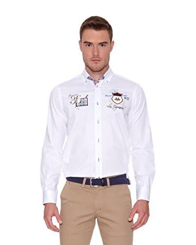 La Española Camisa Hombre  Manga Larga Blanco