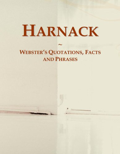 Harnack: Webster's Quotations, Facts and Phrases