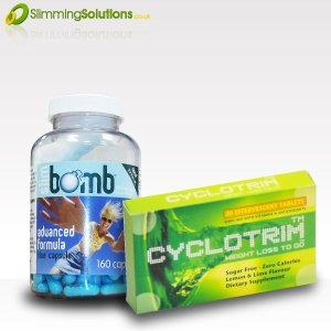 Weight Loss Boost Containing Diet Pills And Slimming Drinks
