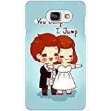 AMAN Jump 3D Back Cover For Samsung Galaxy A7 2016