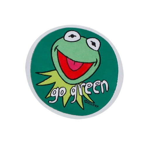 Osann 136-602-03 Patch, Disney Kermit Go Green