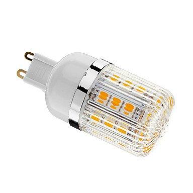 Rayshop - Dimmable G9 4W 30Xsmd 5050 400Lm 3000-3500K Warm White Light Led Corn Bulb(Ac 220-240V)
