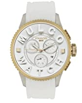 MULCO white Chronograph MWatch 3D Collection MW3-10302-012