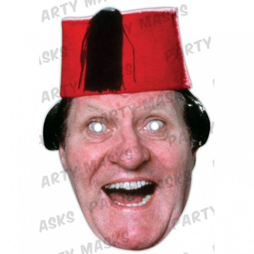 Tommy Cooper Celebrity Cardboard Mask - Single