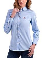 Polo Club Camisa Mujer Acqua Di Garda (Azul Celeste)