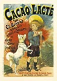 Cacao Vintage French Advertising - Mini Metal Wall Sign Retro Art 15cms x 20cms