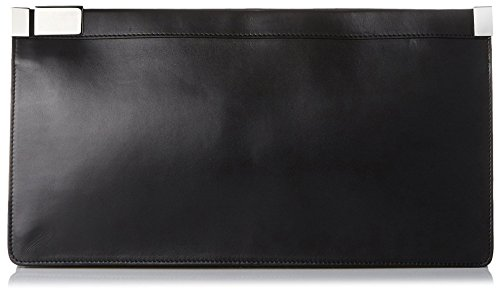 MARTIN-MARGIELA-Womens-Solid-Clutch-Black