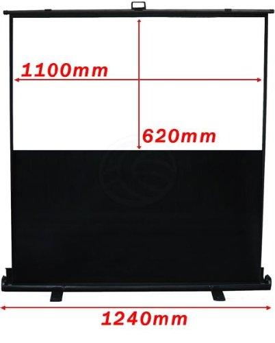 Cablematic - Portable Ecran Projecteur 16:9 1100x620mm DisplayMATIC