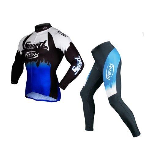 Traje de ciclismo: maillot y pantalones