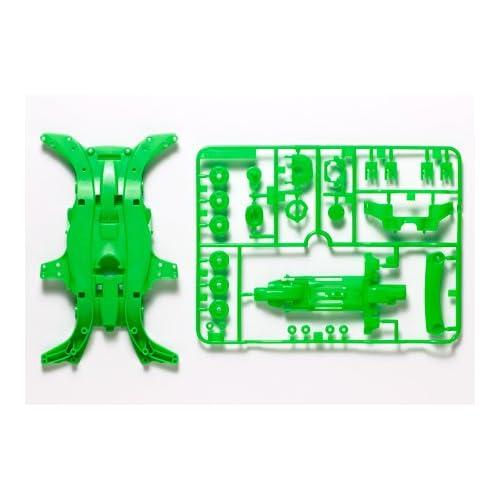 ミニ四駆限定 MA蛍光カラーシャーシセット (グリーン) 95052