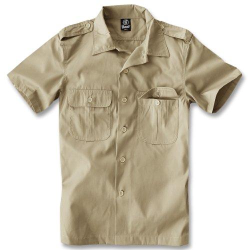 Camicia da uomo a maniche corte Brandit siems lavoro di tempo camicia a maniche lunghe