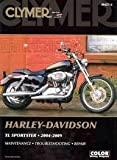 img - for Clymer Harley-Davidson Xl Sportster 2004-2009 2nd (second) edition Text Only book / textbook / text book