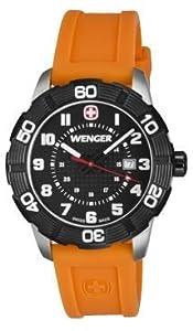 Wenger Roadster Wrist Watch, Orange/Black