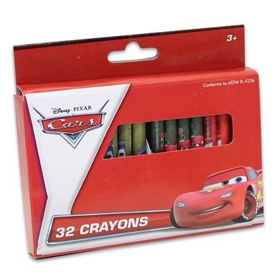 1 piece of Disney Pixar Cars 32 Crayon Set