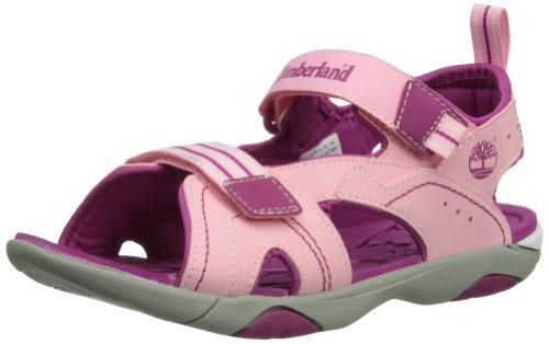 Timberland Sport Casual Sandal Ftk_Dune Buggy 2 Strap - Sandalo, Light Pink/Berry, taglia taglia inglesa 6.5 Child UK