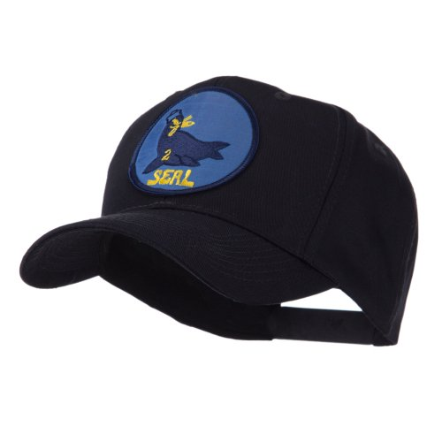 Navy Seal Team Embroidered Military Patch Cap - Seal Team 2 OSFM (Navy Seal Team 2 compare prices)