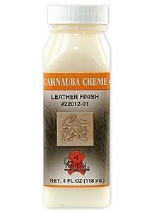 Tandy Leather Carnauba Creme 4 oz. bottle