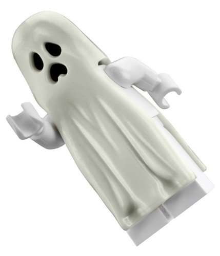 LEGO Ghost (Glow In The Dark) - LEGO Monster Fighters Minifigure