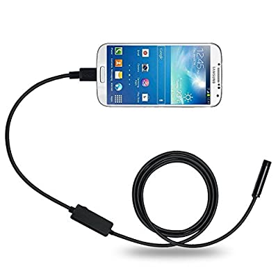 DBPOWER 8.5MM 2MP Cellphone Endoscope for Android System with OTG and UVC Function & Compatible with laptop