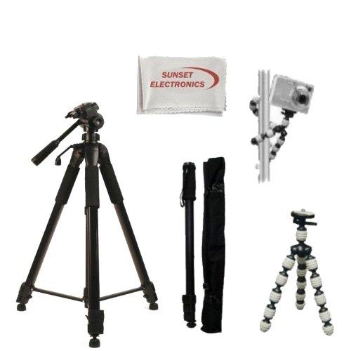 DavisMAX Fibercloth Lens Bundle 2x Telephoto Lenses 3 Piece Filter Kit for Sony Alpha SLT-A77 with Sony 100mm f//2.8 Lens 55mm Wide Angle