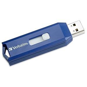 Verbatim 16 GB USB 2.0 Flash Drive, Blue 97275