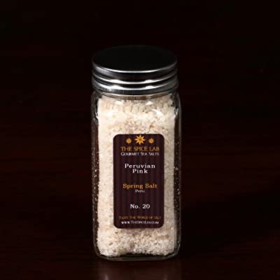 The Spice Lab Warm Spring Mountain Pink Salt Peru (Medium), 1-Count Package by The Spice Lab Inc.