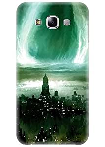 Spygen Premium Quality Designer Printed 3D Lightweight Slim Matte Finish Hard Case Back Cover For Samsung Galaxy E7