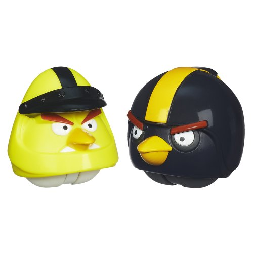 Angry Birds Playskool Heroes Angry Birds Go! Yellow Bird and Black Bird