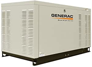 Generac Guardian Series QT03016ANSX 30,000 Watt Liquid Cooled Propane/Natural Gas Powered Standby Generator Without Transfer Switch (CARB Compliant) (Discontinued by Manufacturer)
