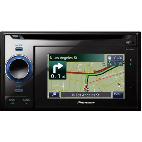 The Electronics World |   Pioneer AVIC-U310BT 4.3-Inch In-Dash Navigation Receiver with CD Player and Bluetooth :  indash 43inch avicu310bt pioneer
