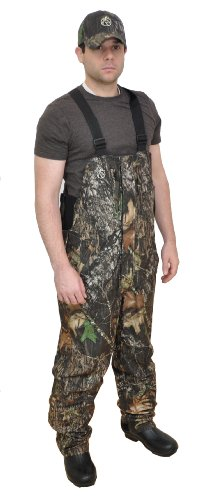 Rutwear MST Mossy Oak Breakup Uninsulated Wind/Waterproof Bibs by Drake Waterfowl - Large