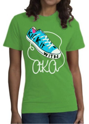Alpha Kappa Alpha Screen Kick It T-Shirt