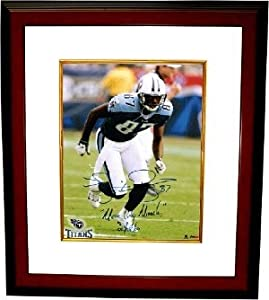 Kevin Dyson Autographed Hand Signed Tennessee Titans 8x10 Photo Custom Framed w Music... by Hall of Fame Memorabilia