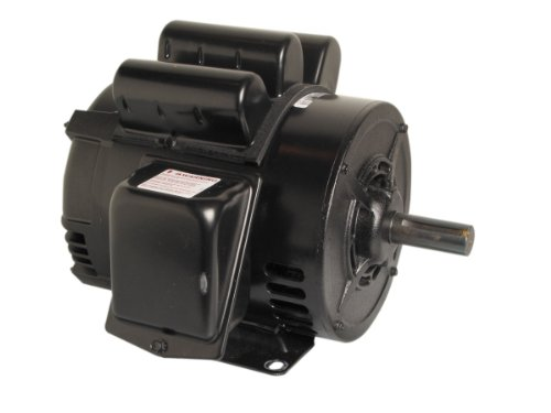 A.O. Smith V209 5 Hp, 1800 Rpm, 1 Speed, 230 Volts, 22 Amps, 1.15 Service Factor, 184T Frame, None Protector, Odp Enclosure Farm Duty Motor