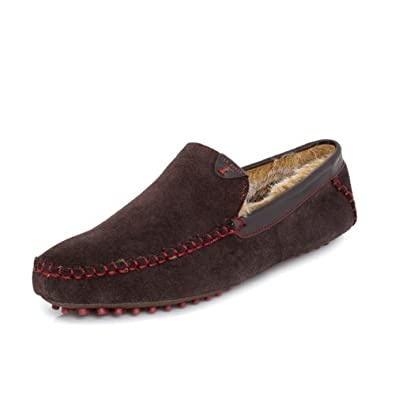 Ted Baker Carota 3 Brown Slippers-UK 11