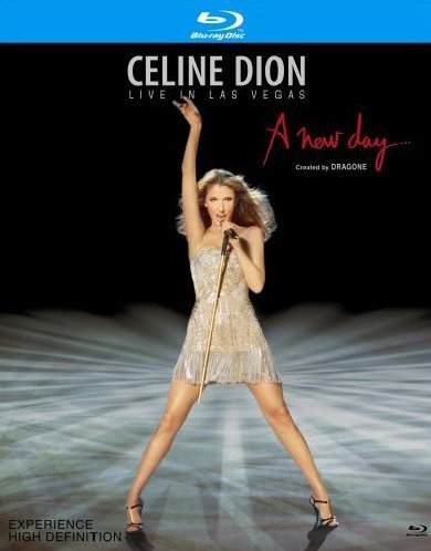 Celine Dion Live in Las Vegas A New Day [Blu-ray] [Import]
