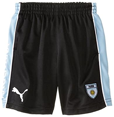 Puma - Kids Boys 2-7 Puma Argentina Short, Black, 2T