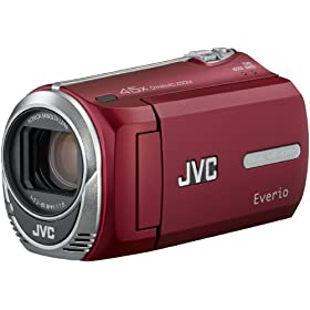 JVC GZ-MS230 Camcorder (Red)