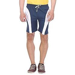 Teestadka Men's Shorts (TT_SHRT M 16_M_Medium_Royal Blue)